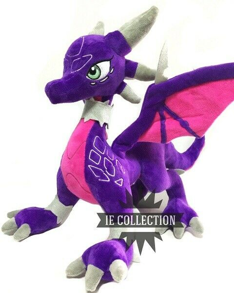 The Legend Of Spyro Cynder Plüsch Groß 30 cm Schneemann Dragon The Dragon Plush