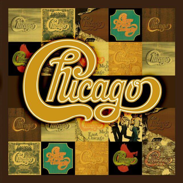 Chicago-The Studio Albums 1969-1978 (2012) 10cd Box Set NEU speedypost