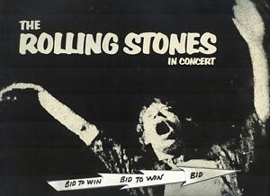 Details about ROLLING STONES in Concert 1972 Tour Program MICK JAGGER KEITH  RICHARDS Very COOL