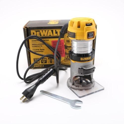 NEW DEWALT DWP611 ELECTRIC ROUTER TOOL 1.25 HP PLUNGE ACTION 7 AMP VS SALE