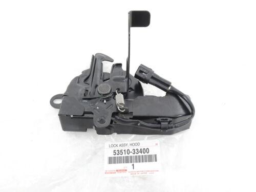 Genuine OEM Lexus 53510-33400 Hood Lock Latch Assy 2013-2018 ES300h /& ES350