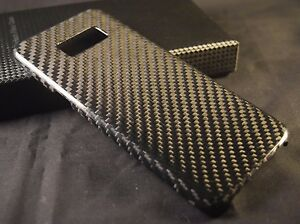 innovative design b7e8d cabe8 Details about SAMSUNG GALAXY S8+ 100% REAL CARBON FIBER CASE / COVER /  WORKS w/ TEMPERED GLASS
