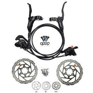 Shimano-BR-BL-M315-MTB-Hydraulic-Disc-Brakes-Set-Pre-Filled-with-160mm-Rotor