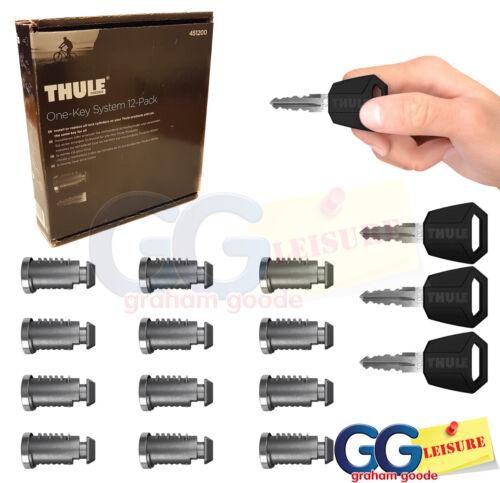 Set of 12 Locks Includes Master Key Thule 451200 One Key System
