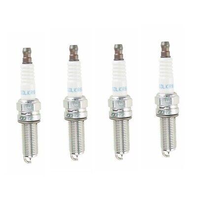 For Acura RDX 2007-2012 Set of 6 NGK Laser Platinum Resistor SILKR8AS//1402