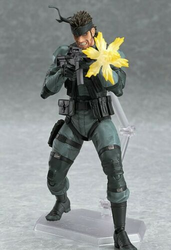 """Details about  6"""" New In Box Metal Gear Solid Snake PVC Action Figure Model Toy Collection"""