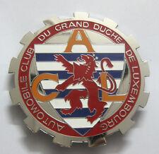 AUTOMOBILE CLUB DU GRAND DE LUXEMBOURG CAR GRILL BADGE EMBLEM MG JAGUAR TRIUMPH