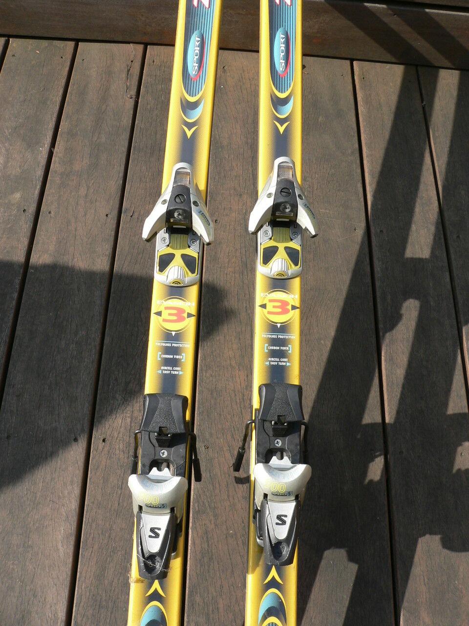 DYNASTAR Evasion 3 Alpinski Alpinski 3 200 T  + Salomon 900 S Bindung 3e518d