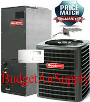 2 1/2 Ton 2.5 Ton 13 Seer A/c 410a Goodman System Gsx130301+aruf30b14+tstat+heat on sale