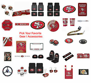 Brand-New-NFL-San-Francisco-49ers-Pick-Your-Gear-Accessories-Official-Licensed