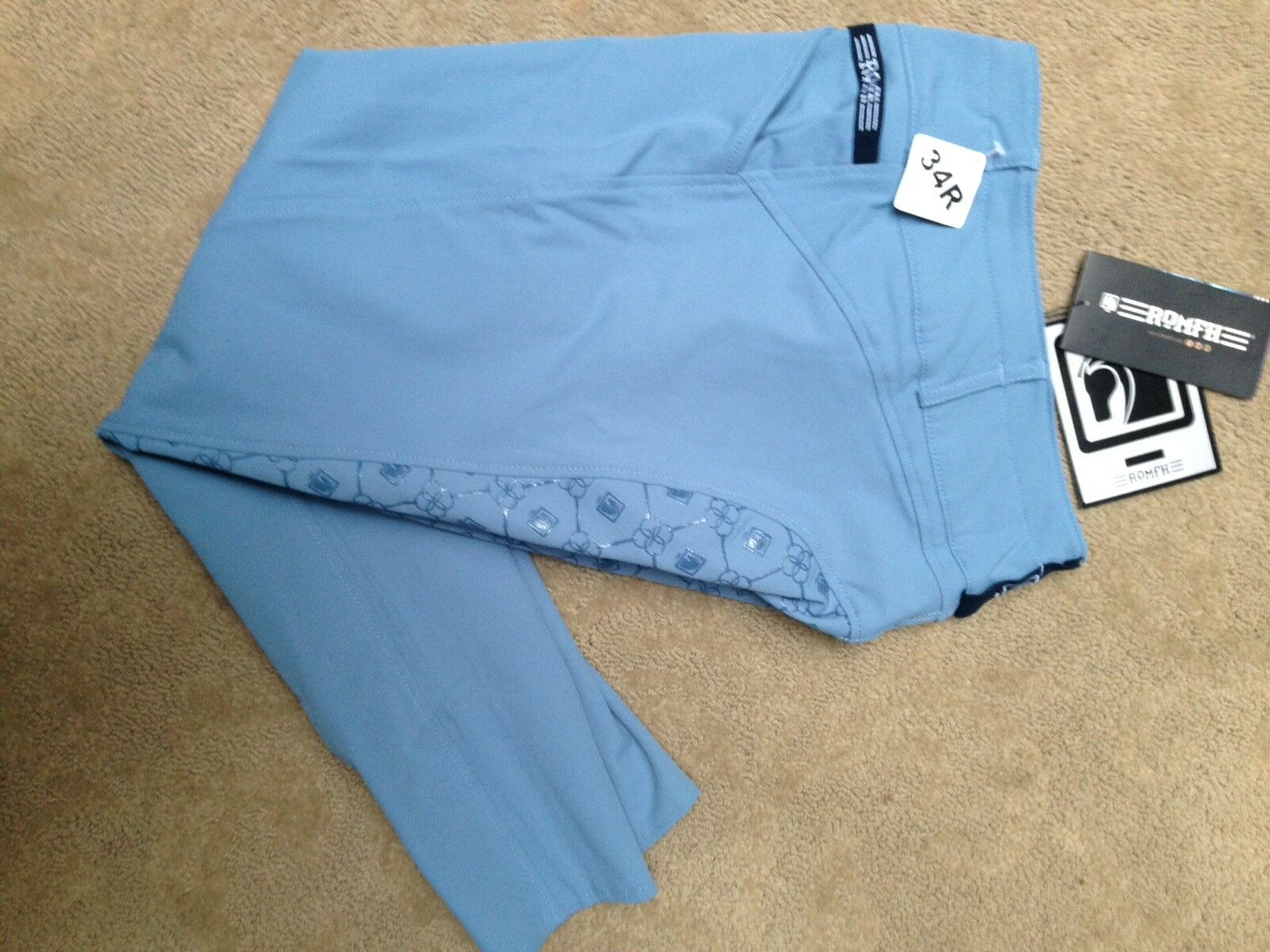 New Romfh Isabella  Full Seat Breeches 34R  cheap and fashion