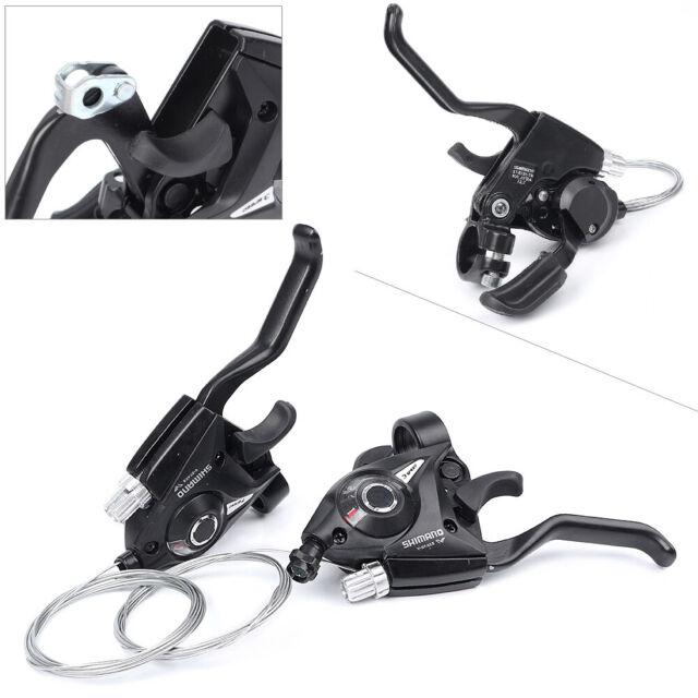 1 Pair Set Shimano ST-EF51-7 MTB Bike Gear 3 x 7 Speed Brake Shifter Combo Lever