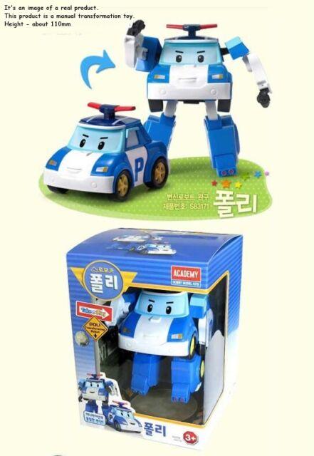 Robocar Poli BUCKY New Transformer Transforming Figure Buggy Car Academy 2016