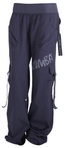 Harrods//UK Convention S M L XL ZUMBA CARGO PANTS Converts to Capri RARE//Elite