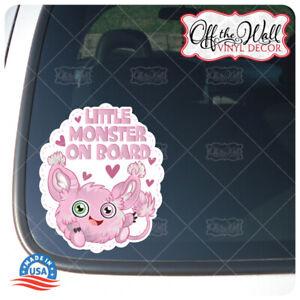 Little-Monster-on-Board-Awareness-Warning-Sign-Vinyl-Sticker-for-Vehicles