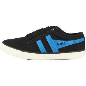 Details zu Gola Comet Schuhe Classics Trainer Sneaker Turnschuhe black neon blue CMA516BA