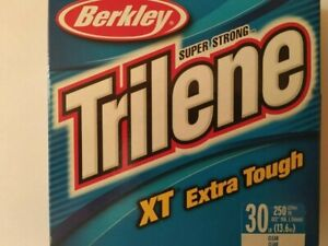 Berkley Trilene XT Mono Filler Spool 30 LB SUPER STRONG CLEAR 250 YARDS USA MADE