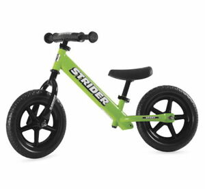 Incredible Details About Strider 12 Custom Balance Bike Green Training Bicycle Pdpeps Interior Chair Design Pdpepsorg