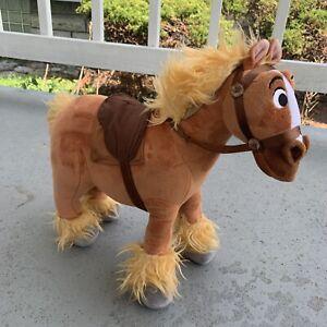 Disney Store Beauty And The Beast 13 Philippe Plush Horse Rare Ebay