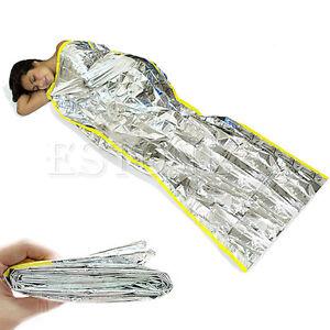 Portable-Waterproof-Reusable-Emergency-Survival-Silver-Foil-Camping-Sleeping-Bag