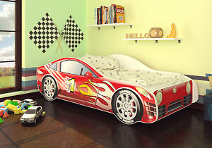 best for kids kinderbett babybett autobett jugendbett matratze lattenrost 70x140 ebay. Black Bedroom Furniture Sets. Home Design Ideas