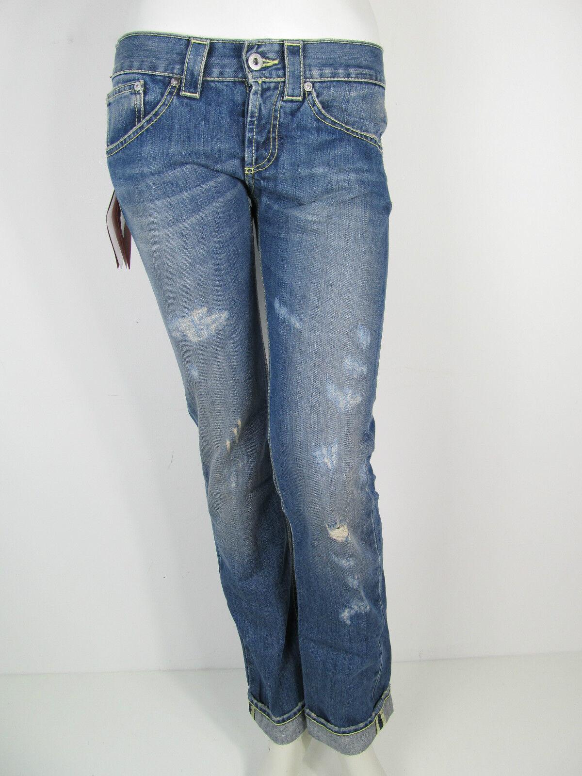 Dondup Hose Denim Jeans Hose UP191Y 800 Music Annapurna Pantalone blue Neu