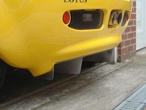 Lotus Elise S1 Difusor-al ras en Negro