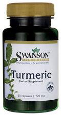 #1 Turmeric 30 CAPS (Tumeric) 100% Spice Curcuma Longa Free Shipping