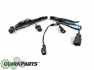 s l300 05 10 chrysler 300 front fog light lamp wiring harness oem new  at mifinder.co