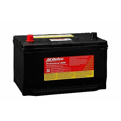 ACDelco 65AGMHR Professional AGM Automotive BCI Group 65 Battery