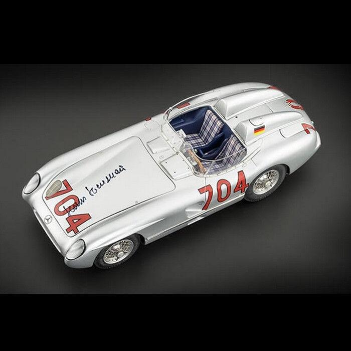 precio al por mayor Cmc M-124 Mercedes 300 SLR SLR SLR 1955 Mille Miglia Le Firmado Nuevo - Coche de Metal  Envío 100% gratuito