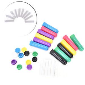 Essential-Oil-Aromatherapy-Blank-Nasal-Inhaler-Tubes-12-Complete-Sticks-Empty-SR