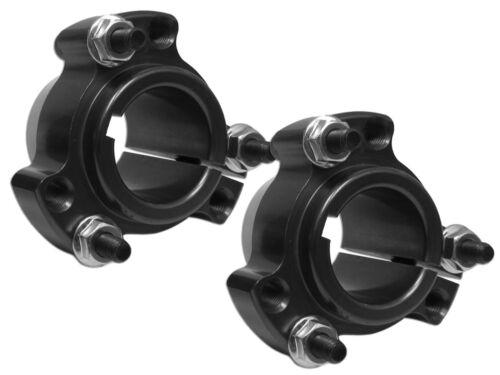 "BLACK 1/"" Go Kart Drift Trike Racing Aluminum Rear Wheel Hubs w//Hardware NEW 2"