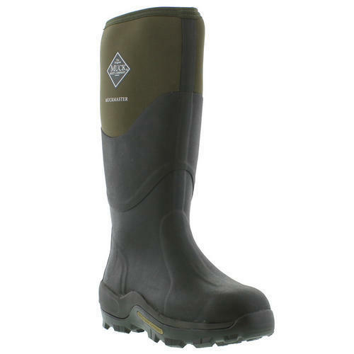 Muck Boots Muckmaster Mens Womens Black Green Wellies Neoprene Boots Size  4-13