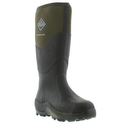 Muck Boots Muckmaster Mens Womens Black Green Wellies Neoprene Boots Size  4-13