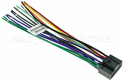 wire harness for jvc kd-avx77 kdavx77 *pay today ships today*   ebay jvc kd avx77 wiring diagram jvc wiring harness color code ebay
