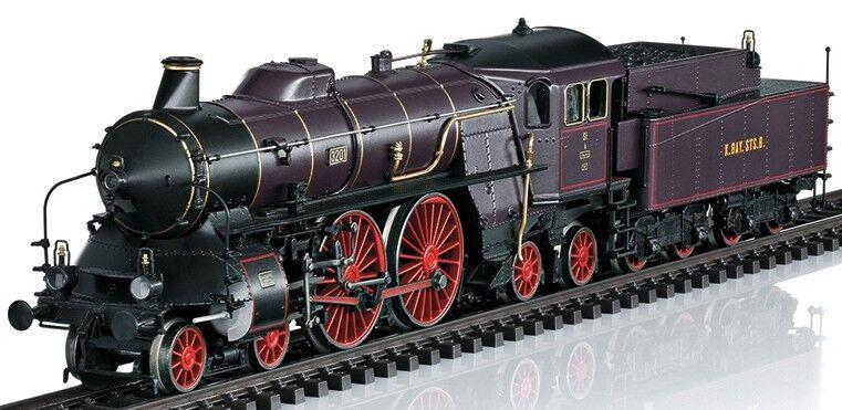 Trix h0 22966 treno rapido-Locomotiva S 2/6 delle K. Bay. STS. B.