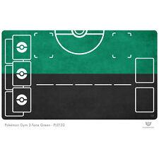 Pokemon Gym Playmat 2-Tone Green - Pokemon Play Mat (PL0132)