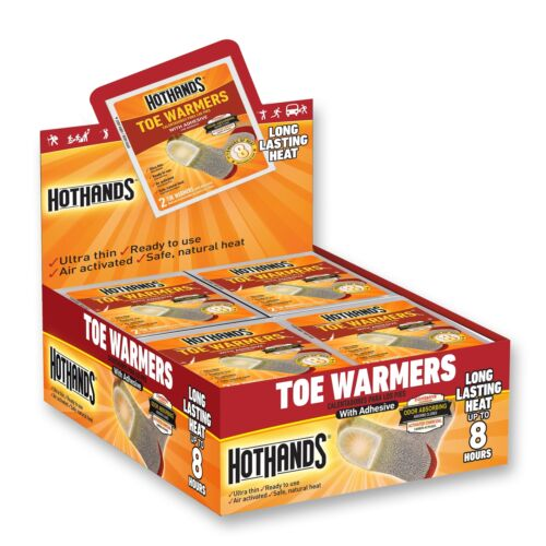 Box of 40 Pairs HotHands Toe Warmer