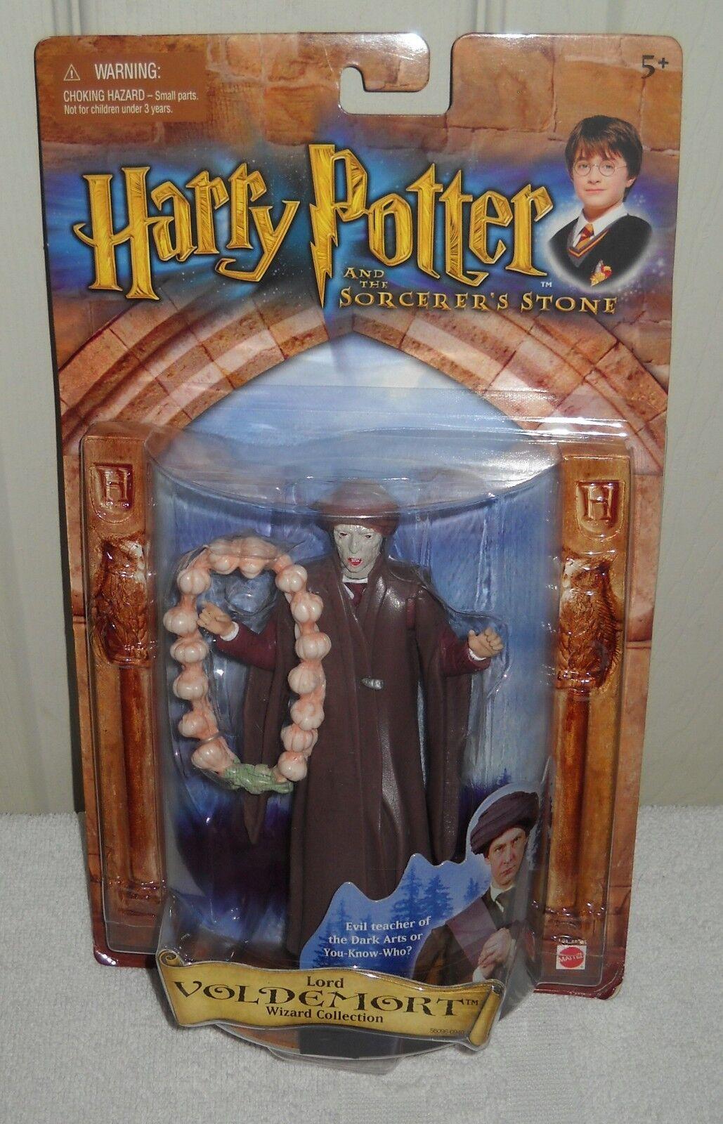 9892 nrfc Mattel asistente de Harry Potter Colección Lord Voldemort Figura De Acción