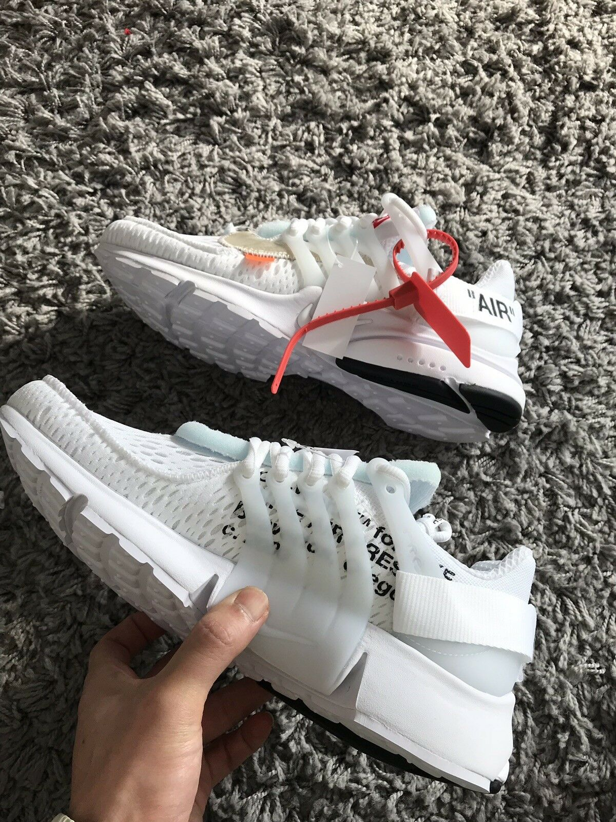 OFF-WHITE OFF-WHITE OFF-WHITE X Nike Presto Bianco UK Air 8 28a1c7