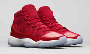 "Nike AIR JORDAN 11 XI ""WIN LIKE 96"" Gym Red New DS Men s Sizes ... 35053296b9"