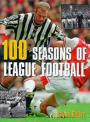 (good)-100 Seasons Of League Football: An Illustrated History (hardcover)-bryon