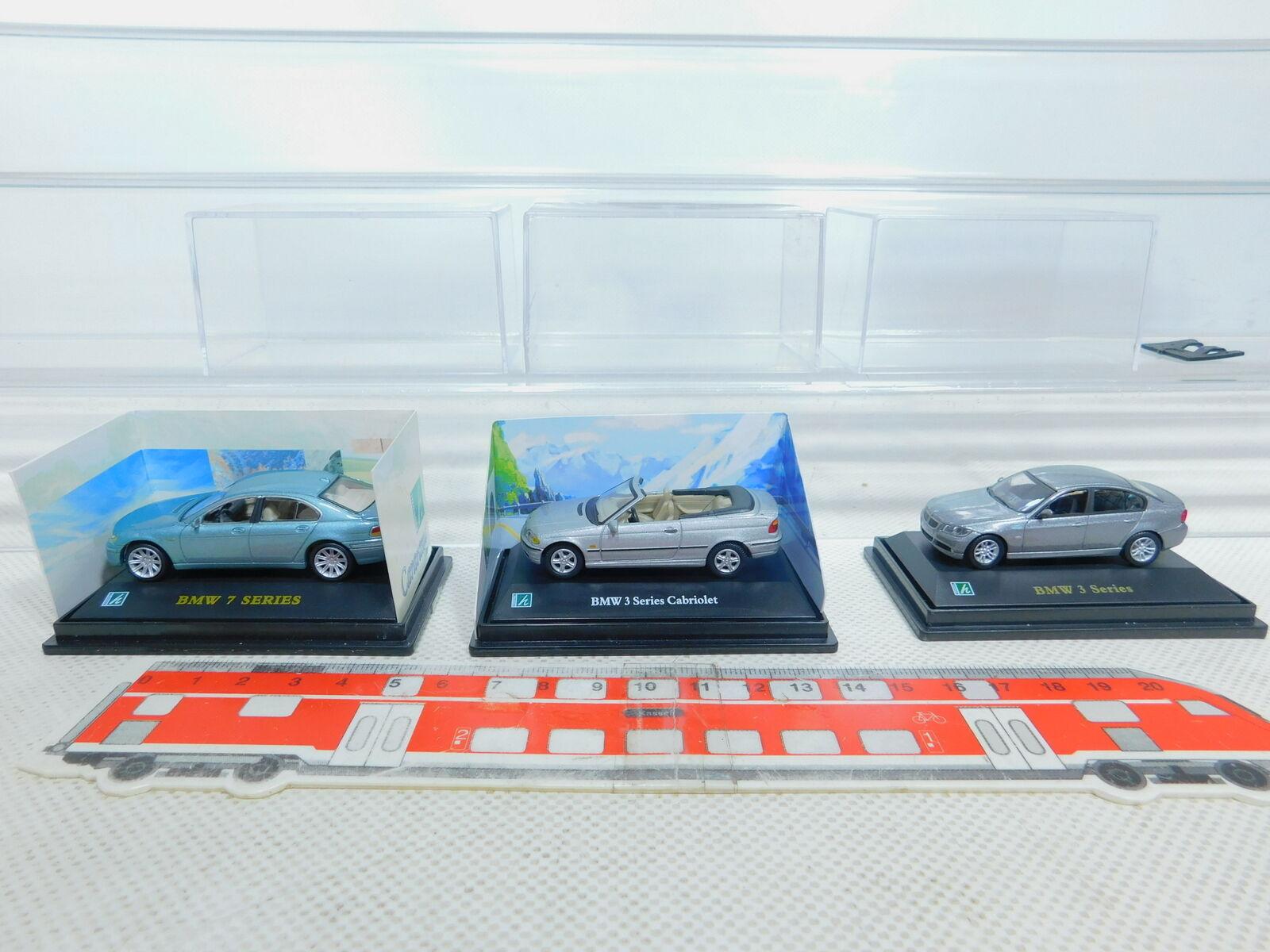 By363-0, 5 x Hongwell 1 72 Car  Car BMW  3 Series +7 Series, Nip