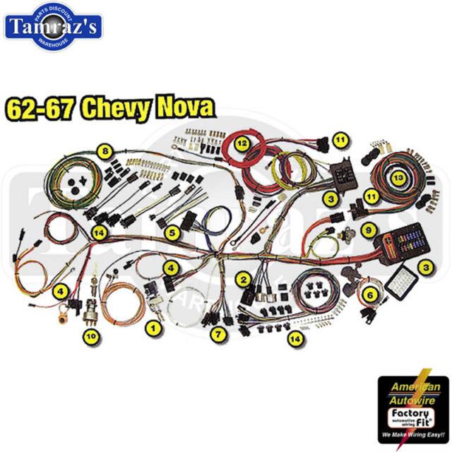 1967 Chevrolet Nova wiring update harness comp for sale online   eBayeBay