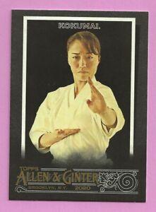2020-Topps-Allen-amp-Ginter-X-Sakura-Kokumai-201-Karate-Athlete