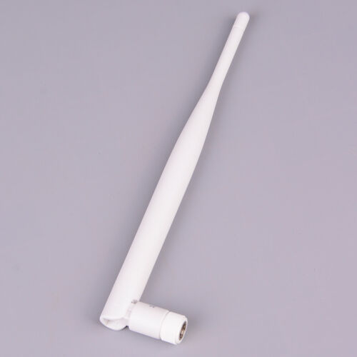 1PC 2.4GHz white WiFi antenna 5dBi aerial RP SMA male connector 2.4g anten Lr