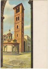 MILANO - IL CAMPANILE DI S.SATIRO - COLLEZIONE DI VILLA CLERICI 1972