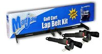 Golf Cart Lap Seat Belt Kit With Mounting Bracket