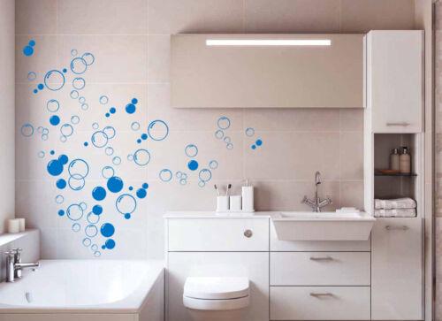 Vinilo baño de burbujas de 90x Pegatinas de pared hazlo tú mismo pared arte de alta calidad puerta de ducha